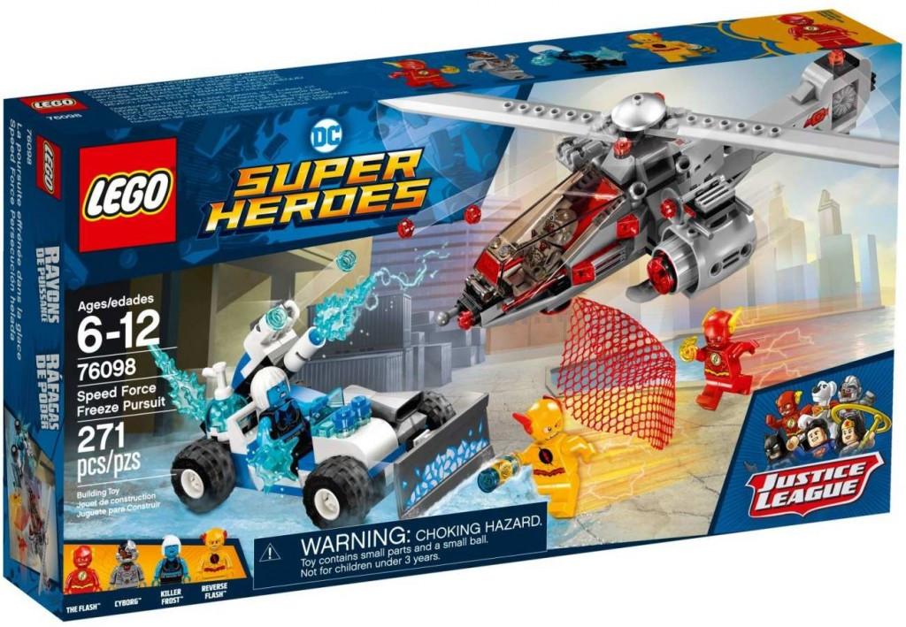 Lego LEGO Super Heroes 76098 Speed Force Freeze Pursuit