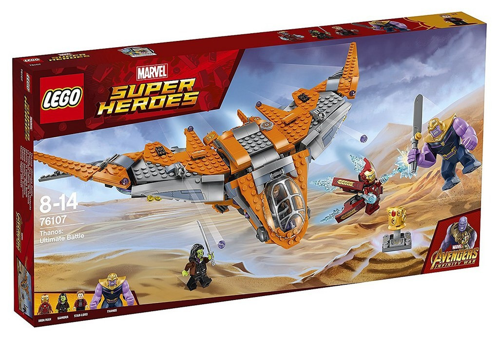 Lego LEGO Super Heroes 76107 Thanos: Poslední bitva