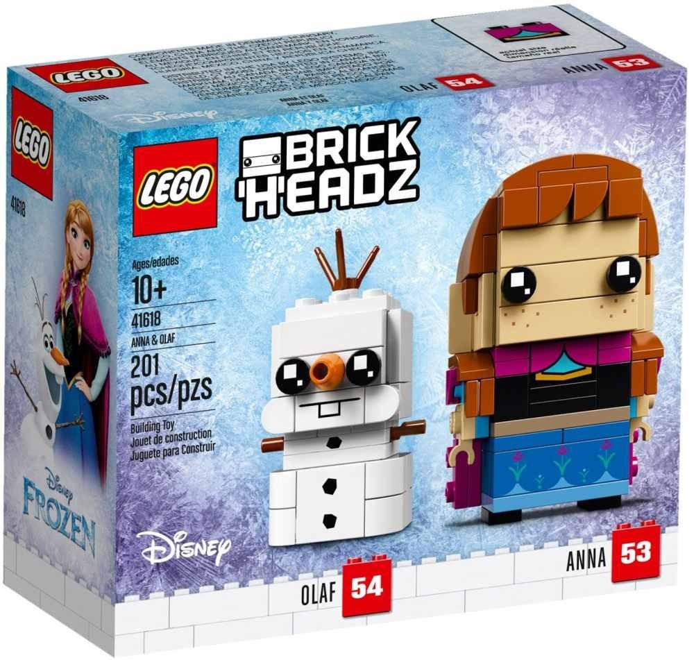 Lego LEGO BrickHeadz 41618 Anna a Olaf