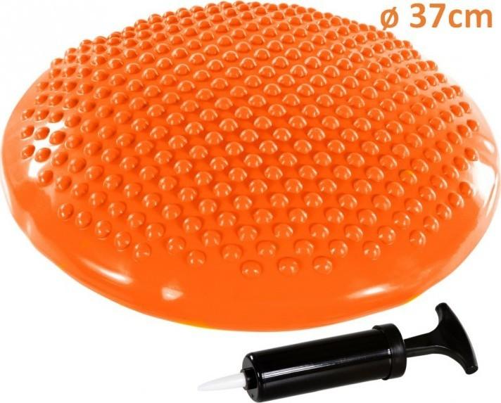 Movit Balanční polštář na sezení MOVIT 37 cm, oranžový
