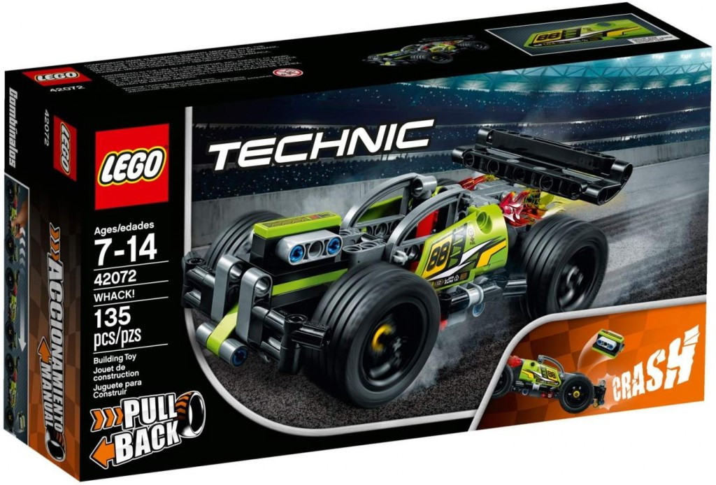 Lego LEGO Technic 42072 Zelený závoďák