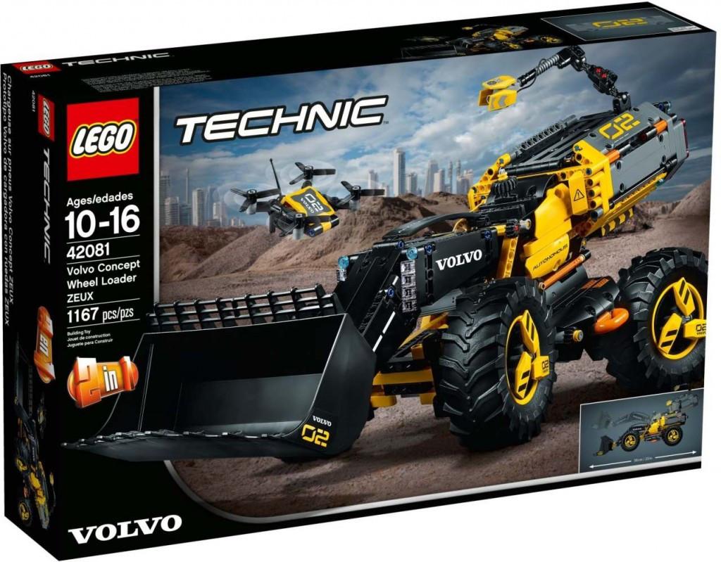 Lego LEGO Technic 42081 Volvo koncept kolového nakladače ZEUX