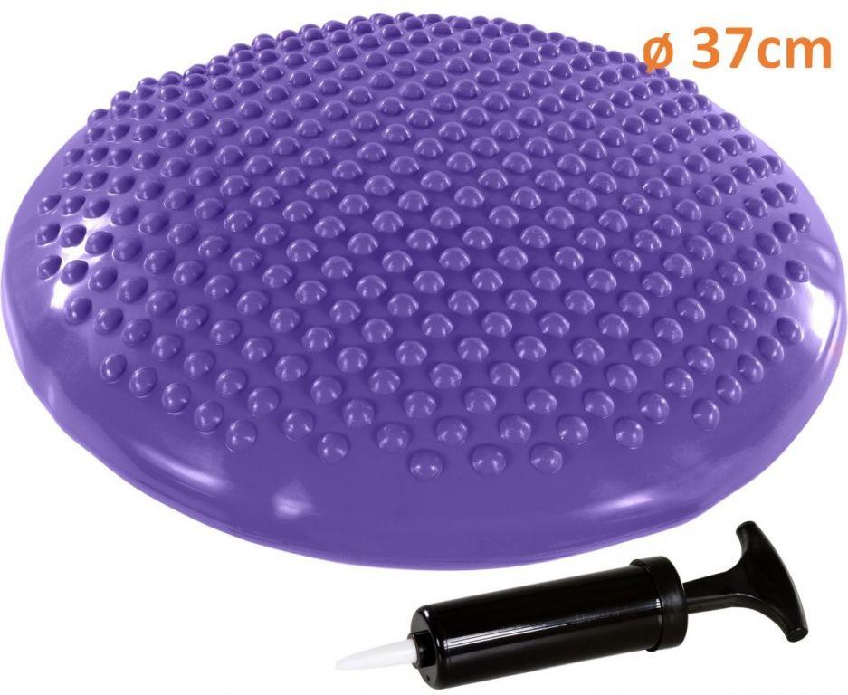Movit Balanční polštář na sezení MOVIT 37 cm, fialový