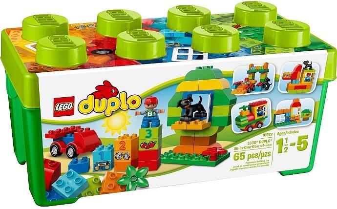 Lego LEGO Duplo 10572 Box plný zábavy