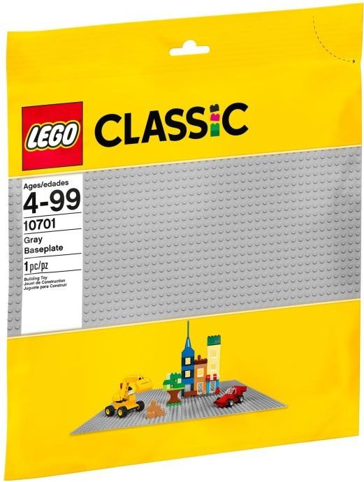 Lego LEGO Classic 10701 Velká podložka na stavění šedá