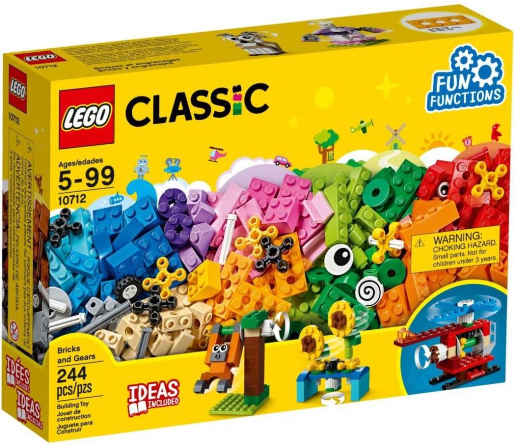 Lego LEGO Classic 10712 Kostky a ozubená kolečka