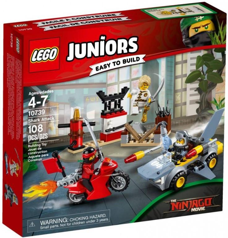 Lego LEGO Juniors 10739 Ninjago Žraločí útok