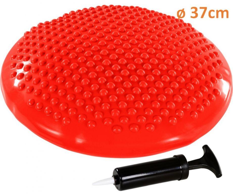 Movit Balanční polštář na sezení MOVIT 37 cm, červený
