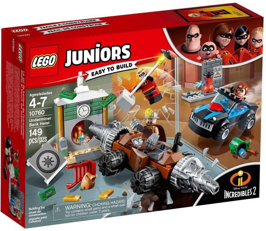 Lego LEGO Juniors 10760 Bankovní loupež Podkopávače