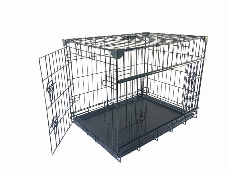 Goleto Přepravní box pro psy do auta 61 x 46 x 53 cm | černý
