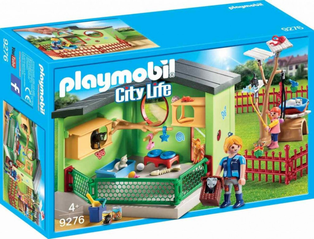 Playmobil 9276 Kočičí penzion