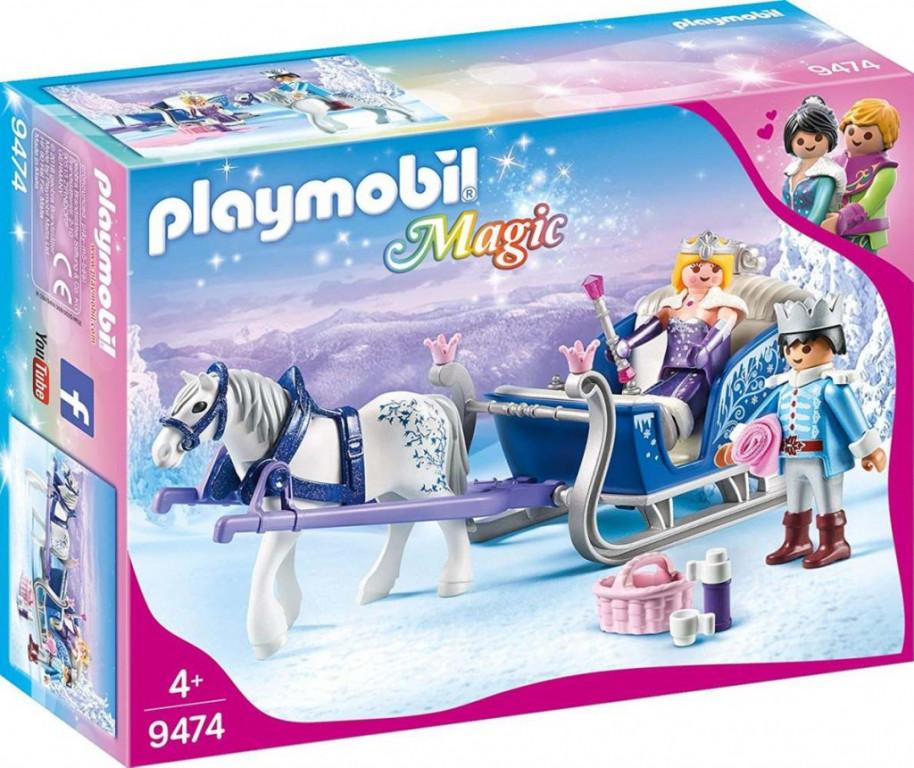 Playmobil 9474 Královský pár na saních
