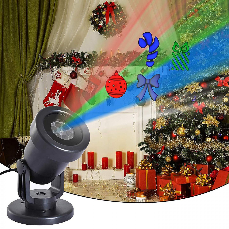 Goleto Vánoční laserový LED projektor