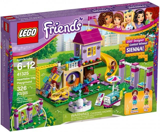 Lego LEGO Friends 41325 Hřiště v městečku Heartlake