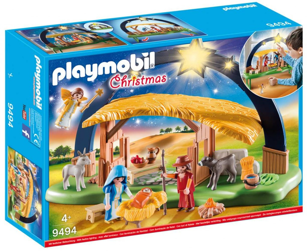Playmobil Playmobil 9494 Betlém se svítícími hvězdami