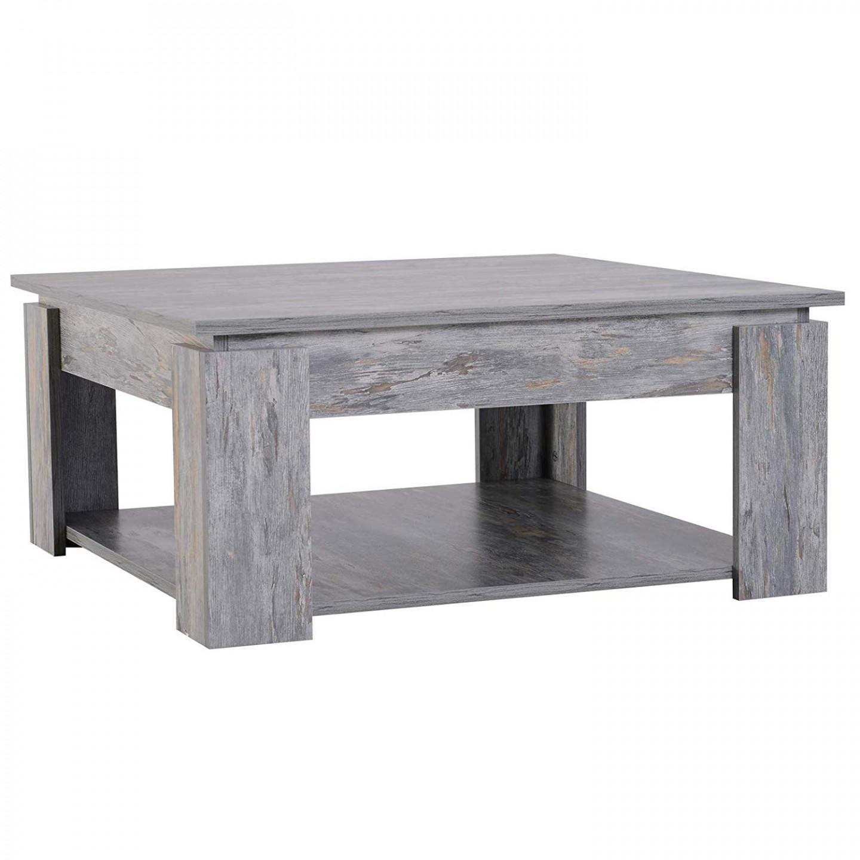 Goleto Konferenční stolek Forest | šedý