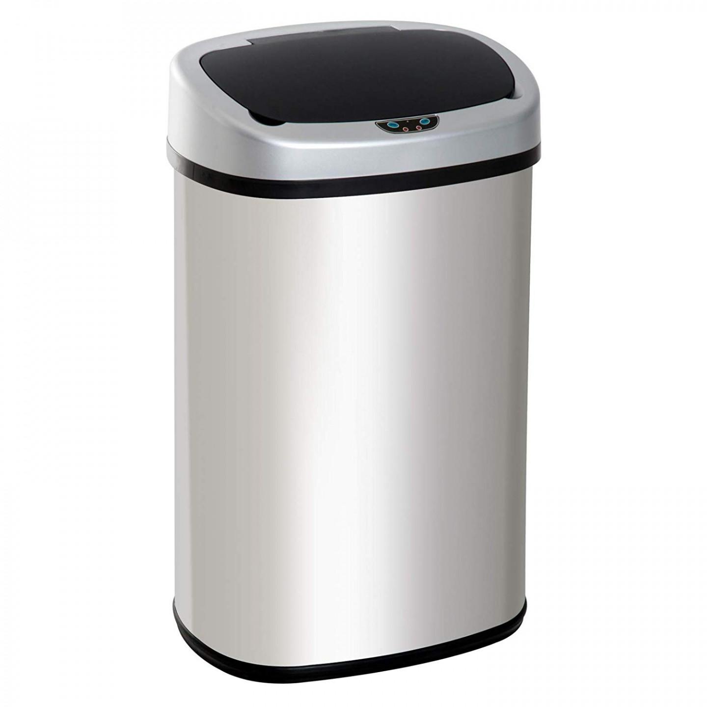 Goleto Automatický bezdotykový odpadkový koš 58 l