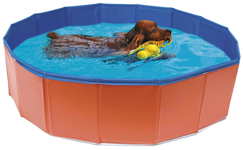 Croci Croci Skládací bazén pro psa 80 x 20 cm | červený