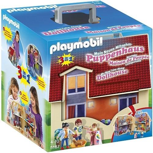 Playmobil Playmobil 5167 Přenosný dům pro panenky