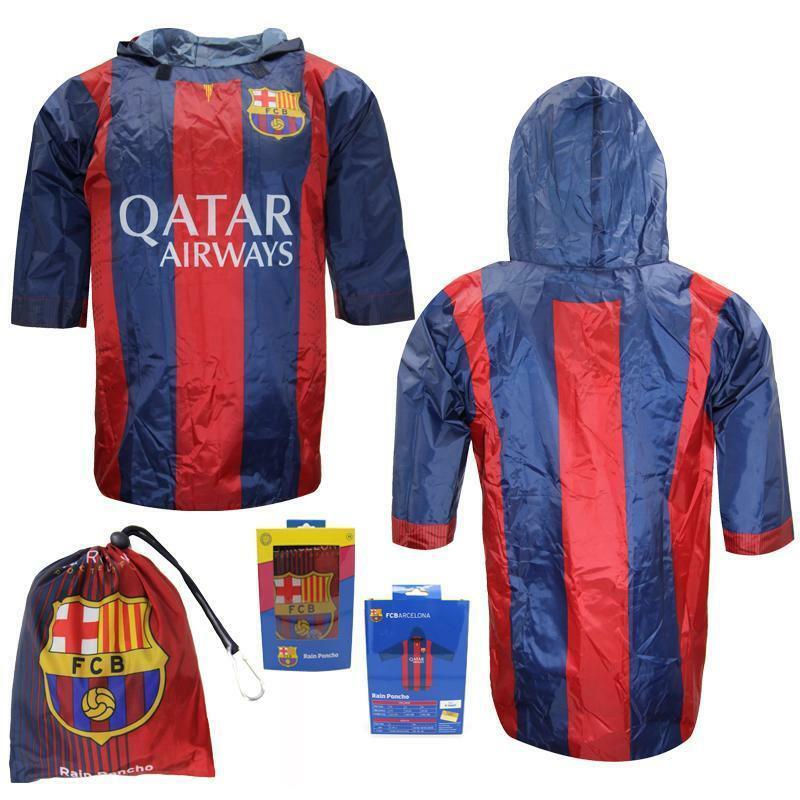 FCBarcelona FC Barcelona modro-červená pláštěnka pro děti i dospělé
