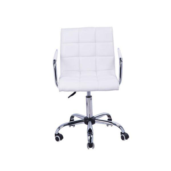 Pracovní - kosmetická židle Agnes CL-2331 | bílá
