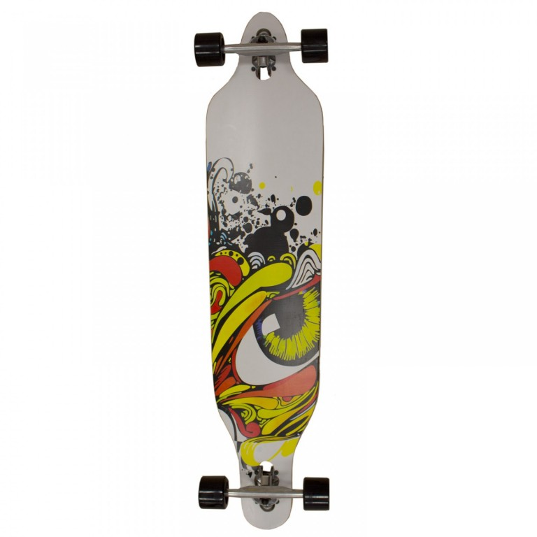 Longboard Crazy Grafitti Eye 104 cm