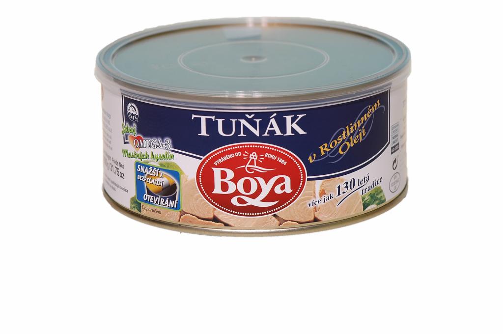 Exkluzivní tuňákové filety Boya v rostlinném oleji 900 g