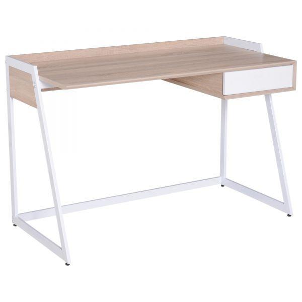 Kancelářský PC stůl GOLETO STYLE GL1200 120x60x75 cm bílý