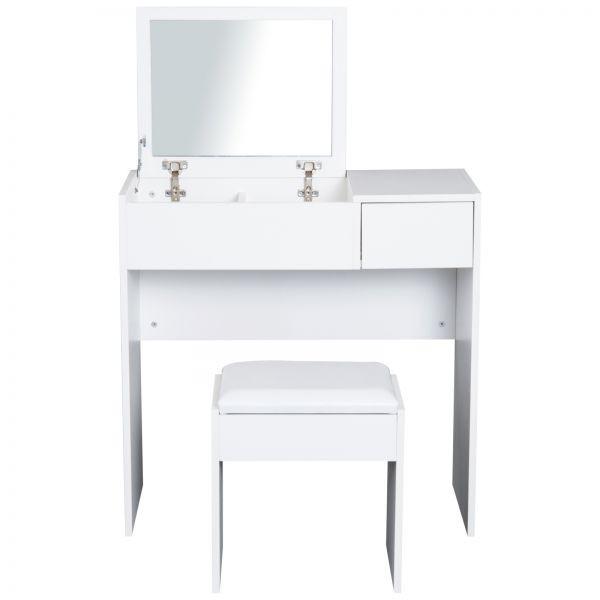 0009a24f472b Goleto Toaletní stolek se stoličkou a vyklápěcím zrcadlem