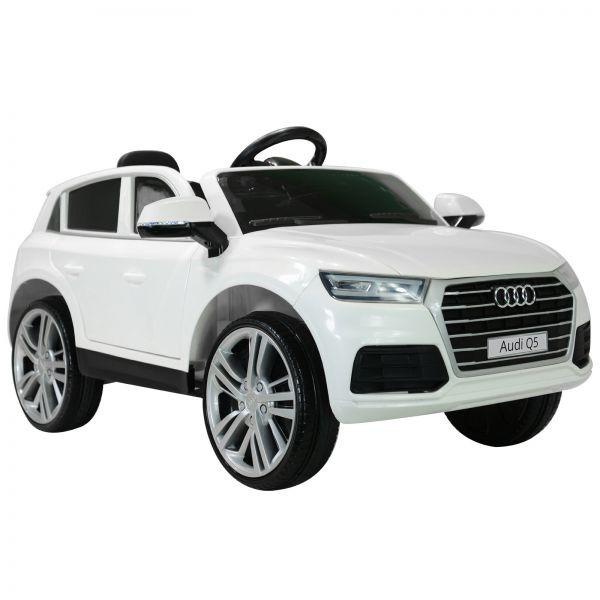 Goleto Luxusní dětské autíčko Audi Q5 s dálkovým ovládáním | bílé