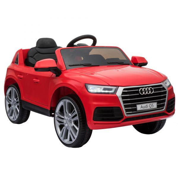 Goleto Luxusní dětské autíčko Audi Q5 s dálkovým ovládáním | červené