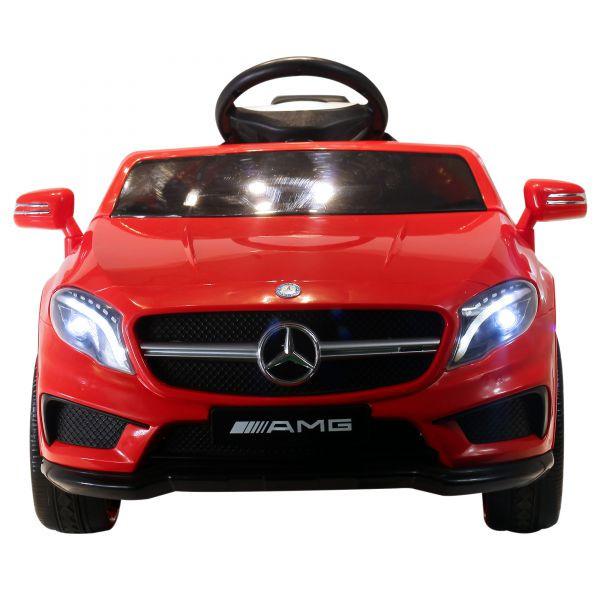 Goleto Luxusní dětské autíčko Mercedes Benz AMG GLA s dálkovým ovládáním | červené