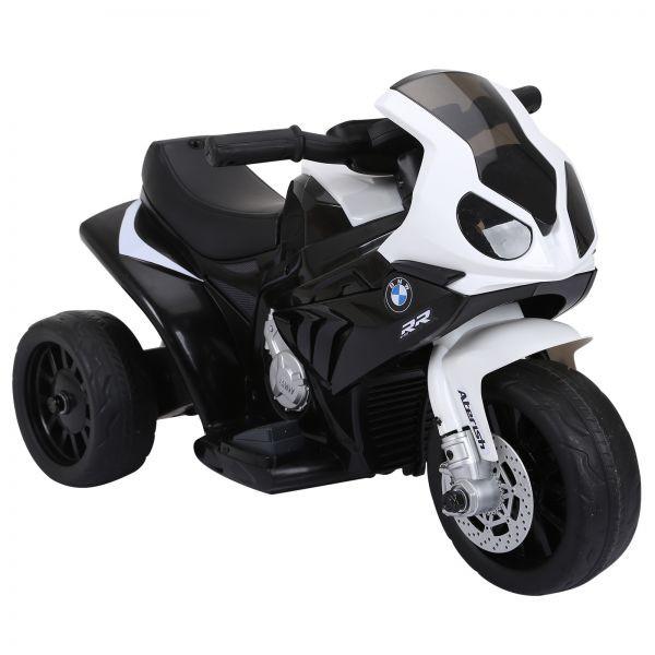 Goleto Luxusní dětská elektrická motorka BMW - 66 x 37 x 44 cm   černá