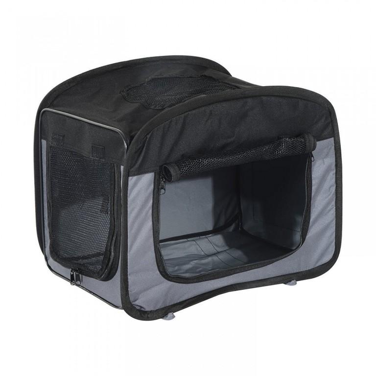 Přepravní box pro psy 50 x 33 x 30 cm | šedý