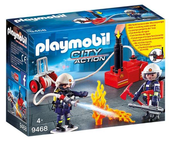 Playmobil Playmobil 9468 Hasiči s čerpadlem a vodní pumpou