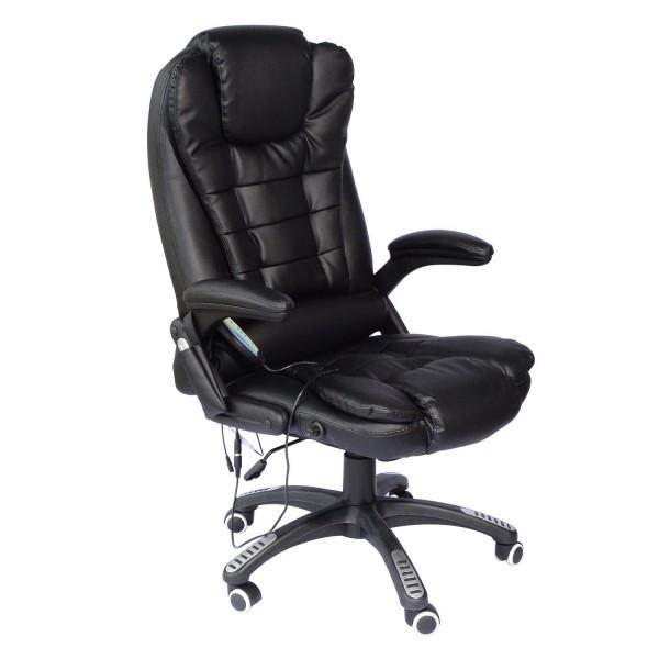Kancelářské křeslo s masážní funkcí DESIGN XL-700 | černé