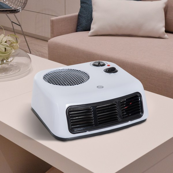Goleto Elektrický ohřívač s ventilátorem | bílý