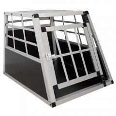 Přepravní hliníkový box pro psy 54 x 69 x 51 cm č.1