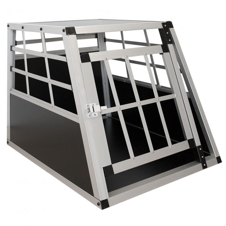 Přepravní hliníkový box pro psy 54 x 69 x 51 cm