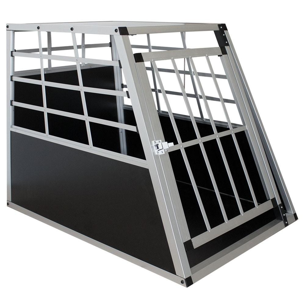 Goleto Přepravní hliníkový box pro psy 65 x 91 x 69 cm