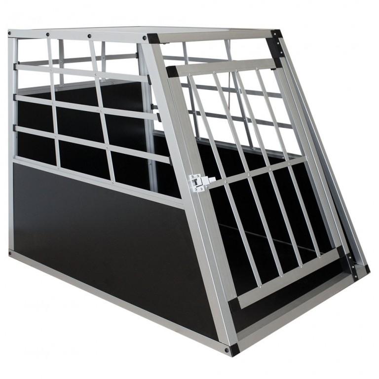 Přepravní hliníkový box pro psy 65 x 91 x 69 cm