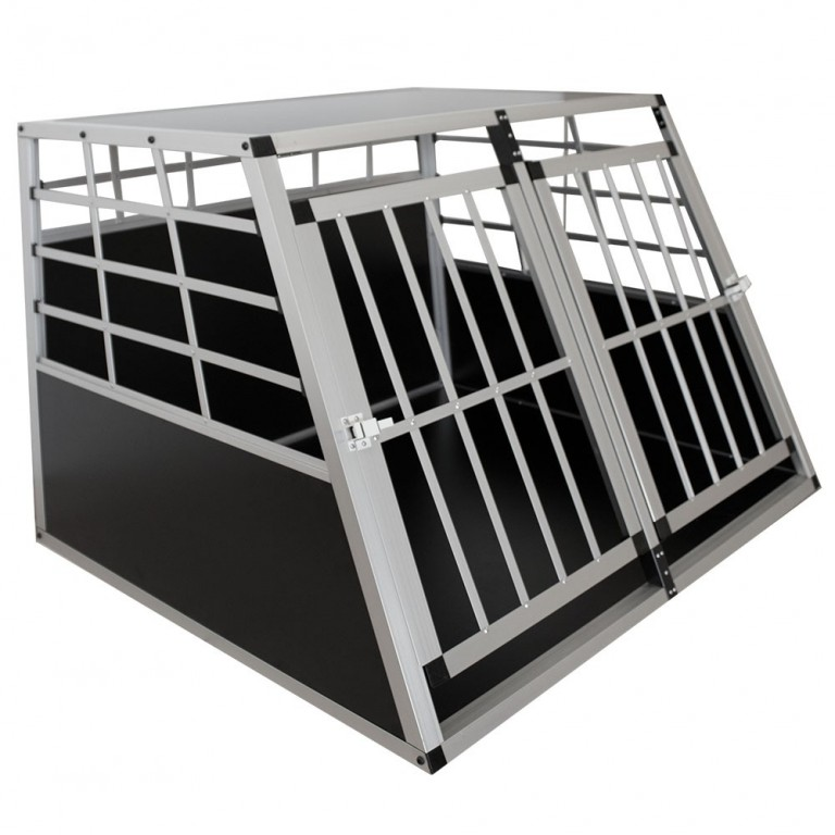 Přepravní hliníkový box pro psy 104 x 91 x 69 cm