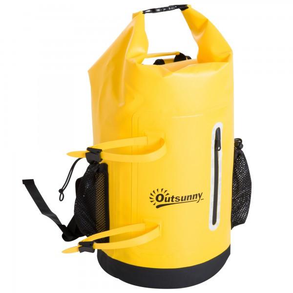 Goleto Voděodolný batoh 30L   žlutý