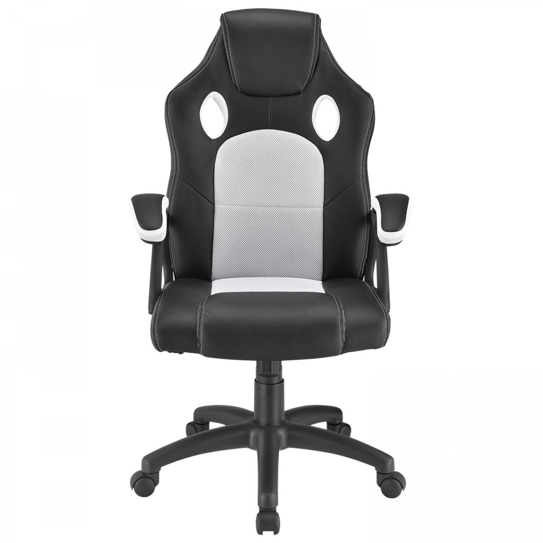 Kancelářské křeslo RACING DESIGN ZK-010 | černo-šedé