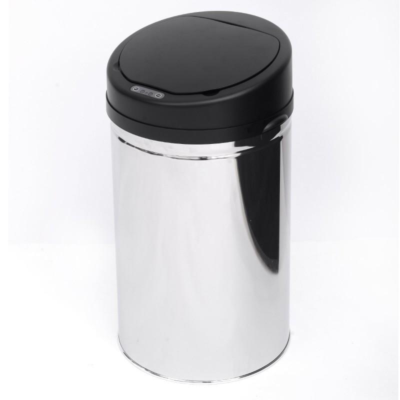 Goleto Automatický bezdotykový odpadkový koš 30 l | kulatý