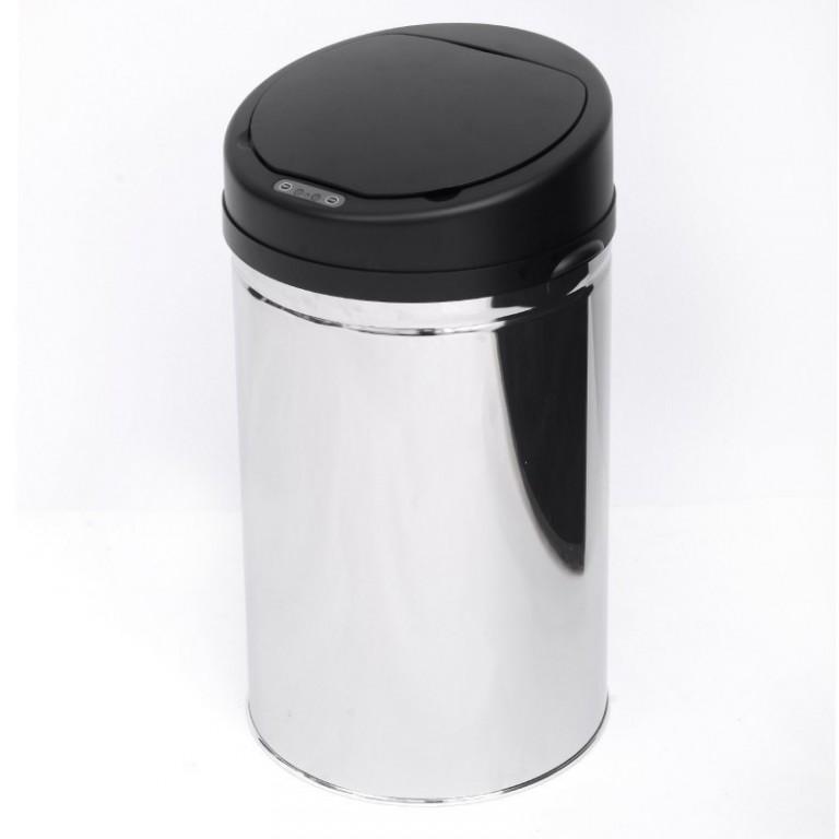 Automatický bezdotykový odpadkový koš 30 l, kulatý