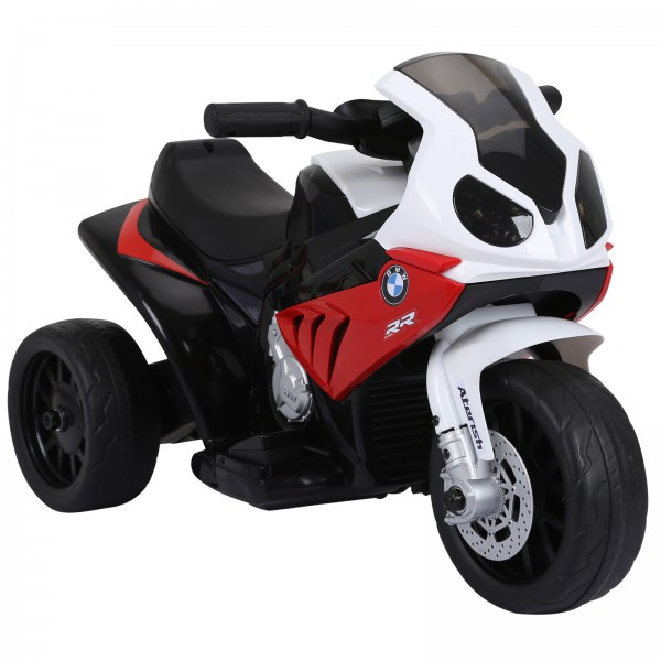 Goleto Luxusní dětská elektrická motorka BMW - 66 x 37 x 44 cm   červená