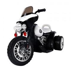 Dětská elektrická motorka Harley, černá č.1