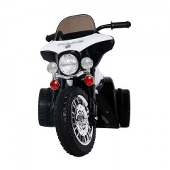 Dětská elektrická motorka Harley, černá č.2