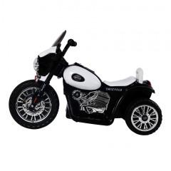 Dětská elektrická motorka Harley, černá č.3